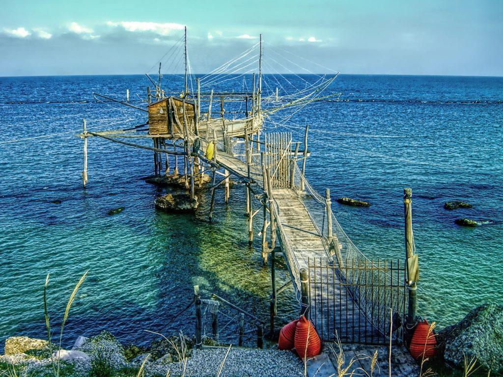 Trabocco a Fossacesia, Abruzzo