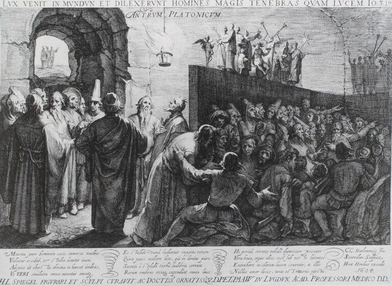 L'allégorie de la caverne de Platon par Jan Saenredam